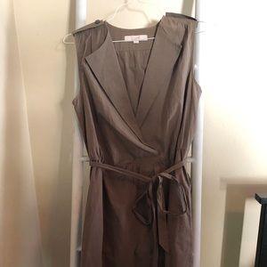 LOFT gray dress.